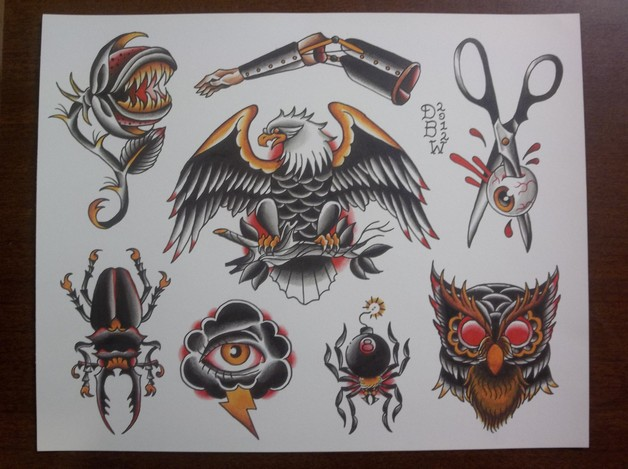 Boxer Bee Tattoo Design photo - 1
