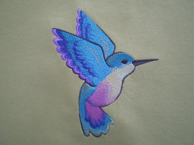 Broad Tailed Hummingbird Tattoo Design photo - 1