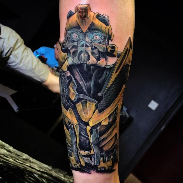 Bumblebee Tattoo Image photo - 1