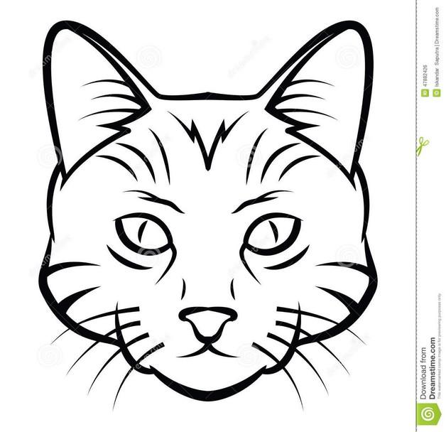 Cat Tattoo Graphic photo - 1