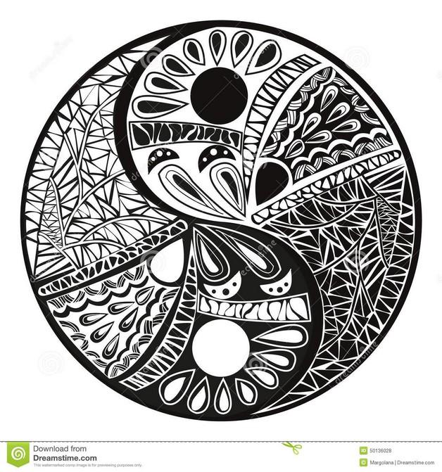 Celtic Yin Yang Tattoo Design photo - 1