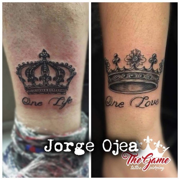 King And Queen Love Quotes Chess King And Queen Tattoos  All Tattoos Formen
