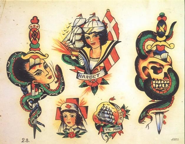 Coleman Dagger Tattoo Design photo - 1