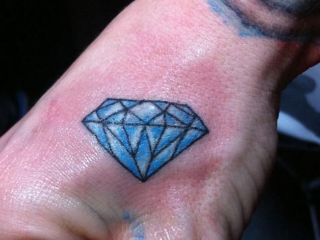 Compare Diamond Tattoo Designs photo - 1