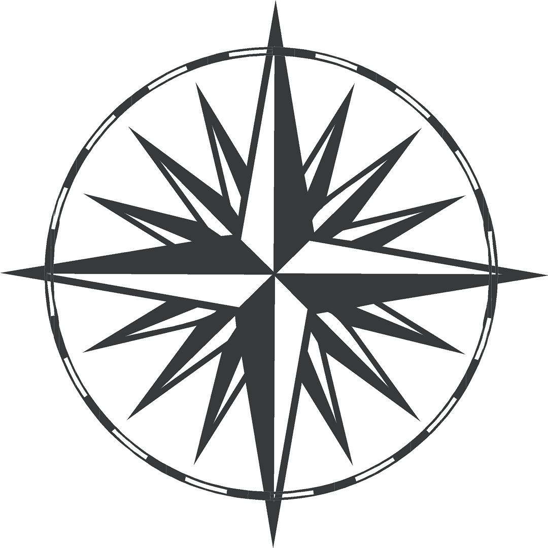 Compass Dagger Tattoo Design photo - 1