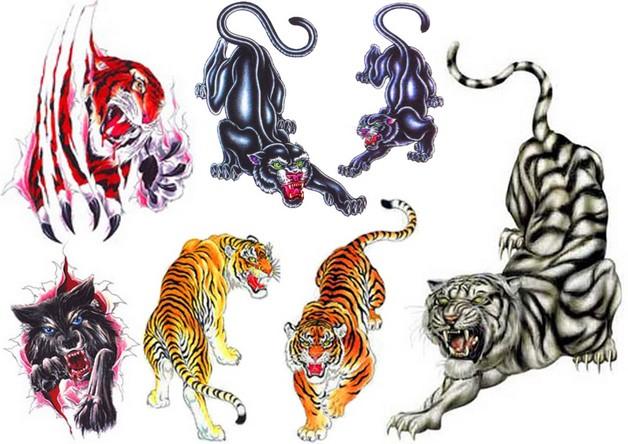 Crawling Animal Dagger Tattoo Design photo - 1