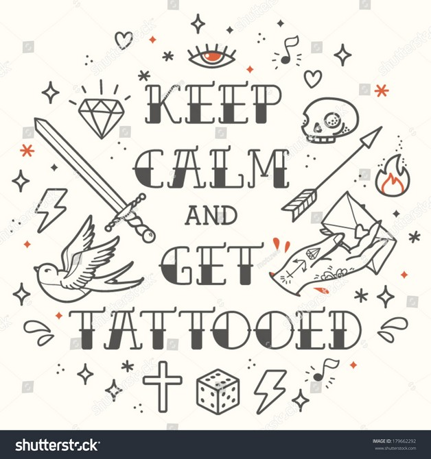 Crazy Diamond Tattoo Style photo - 1