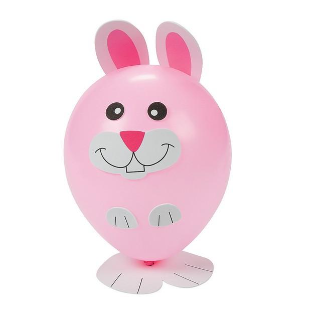 Cute Rabbit With A Balloon Tattoo photo - 1