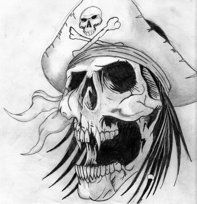 Danger Skull Bottle Tattoo On Arm photo - 1
