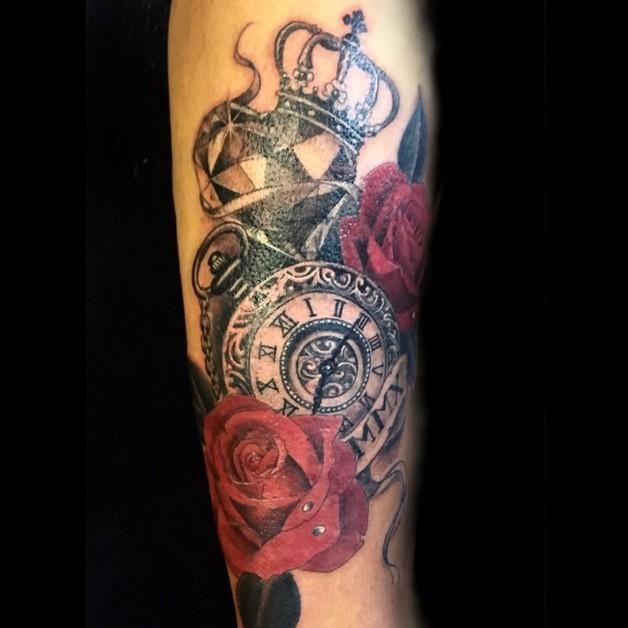 Diamond Crown Tattoo photo - 1