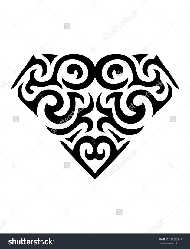 Diamond Symbol Tattoo Design photo - 1