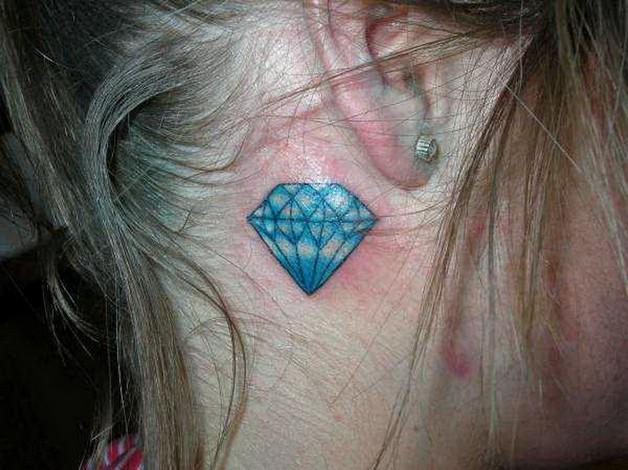 Diamond Tattoo Picture photo - 1