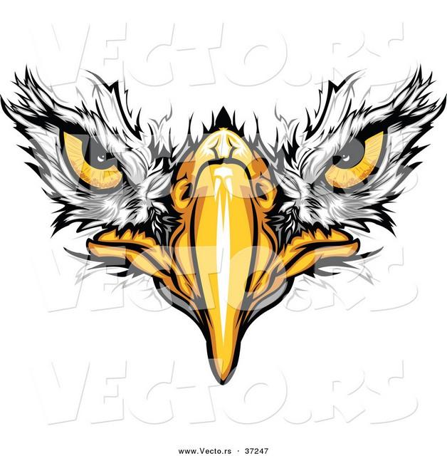Eagle Head Tattoo On Muscles photo - 1