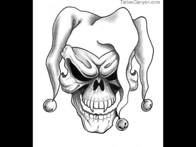 Evil Hand Tattoo Design photo - 1