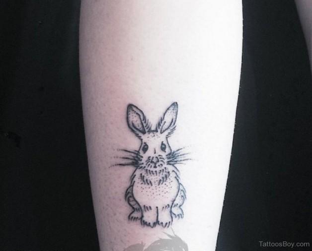 evil rabbit tattoo design page. Black Bedroom Furniture Sets. Home Design Ideas