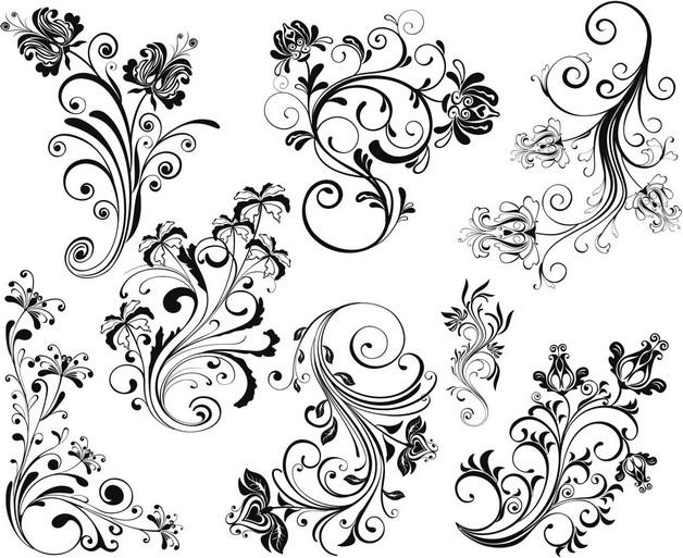 Floral Vine Tattoo Design photo - 1