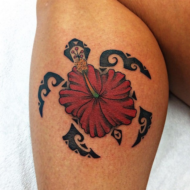 Flower Foot Tattoo Design photo - 1