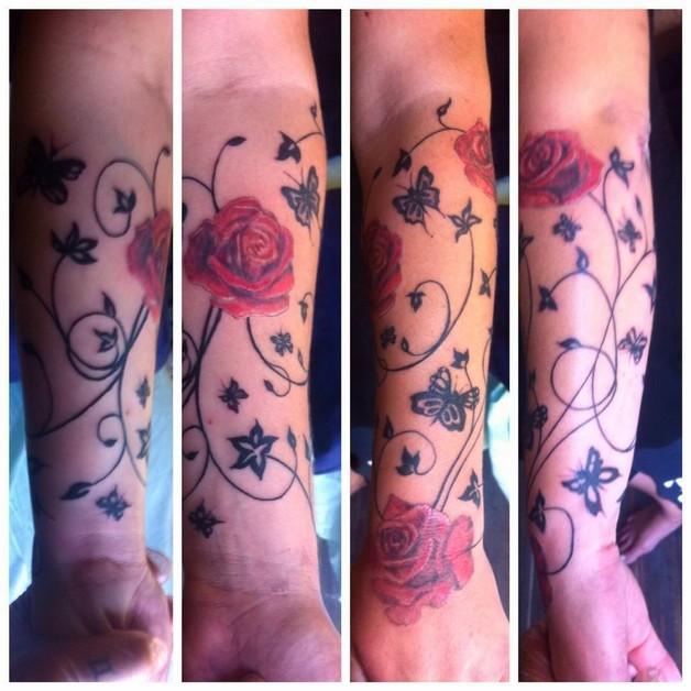 Flower Tattoo For Women photo - 1