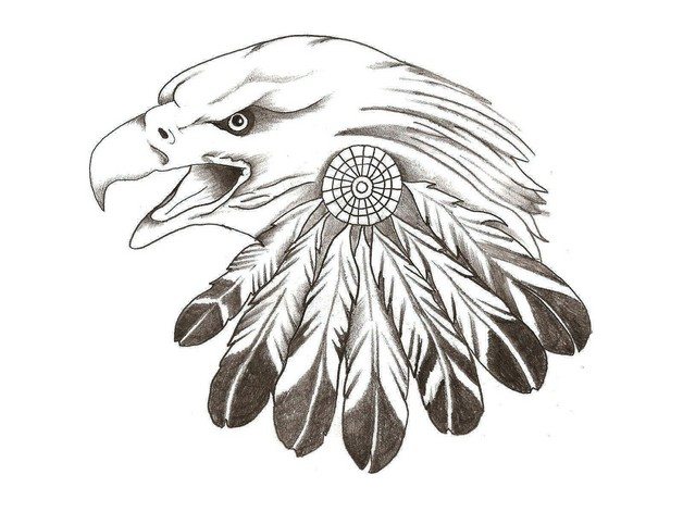 Free Eagle Tattoo Designs photo - 1
