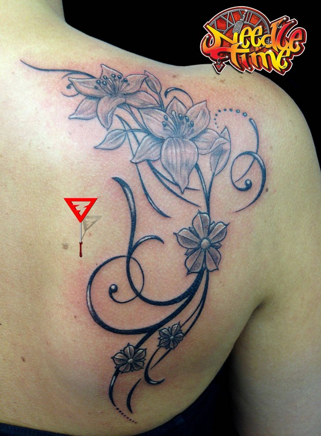 Freehand Hummingbird Tattoo Design photo - 1