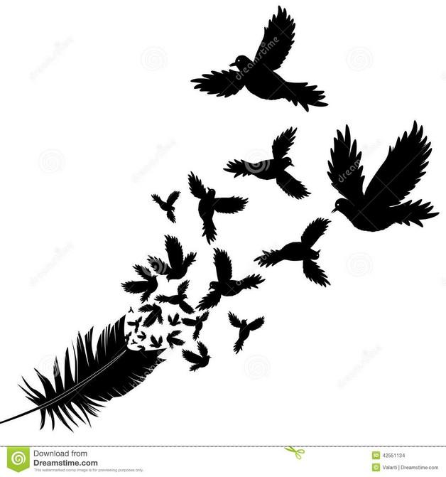 Funny Bird Tattoo Design photo - 1