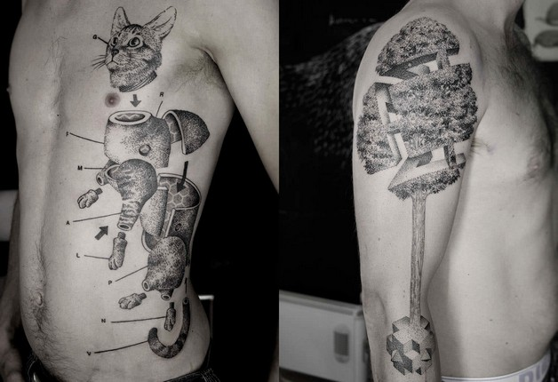 Funny Tattoo Designs On Legs photo - 1