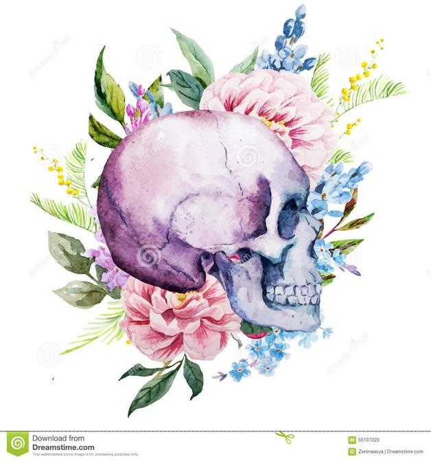Gorgeous Queen Sugar Skull Tattoo photo - 1