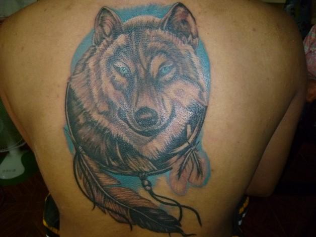 Grey Smoking Rabbit And Globe Tattoos On Ribs photo - 1