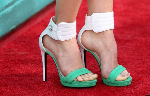 High Heels n Diamond Tattoo On Foot photo - 1