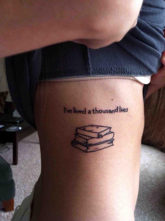 History Literary Tattoo On Wrist photo - 1