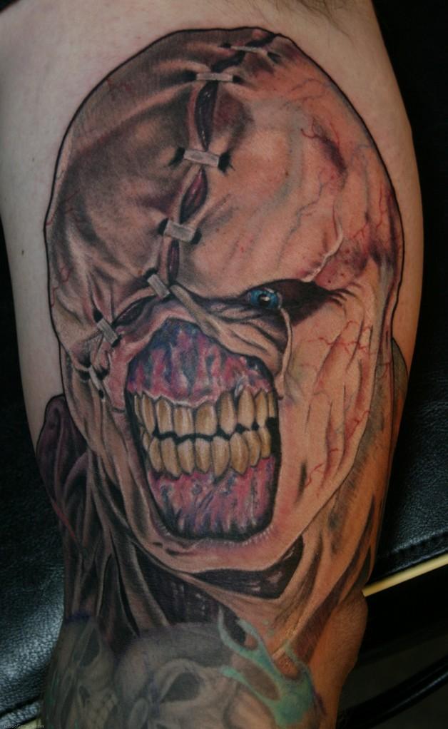 Horror Zombie Biceps Tattoo photo - 1