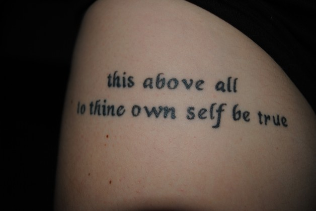 Incredible Literary Tattoo photo - 1