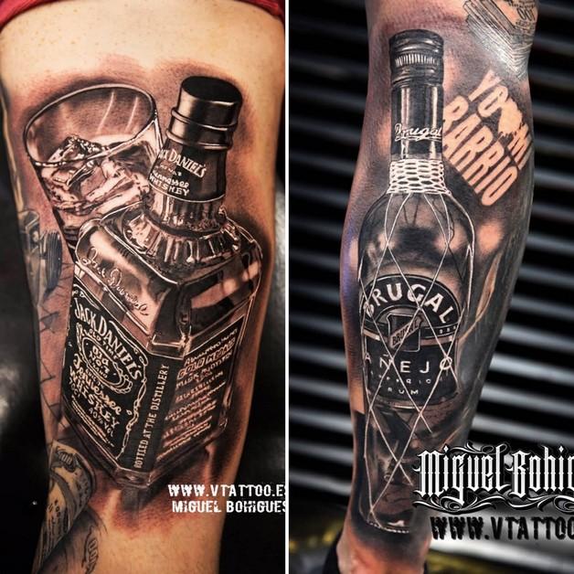 Jack Daniels Glass Tattoo photo - 1