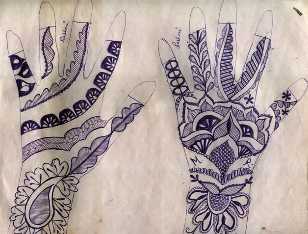 Jain Hand Tattoo Design photo - 1