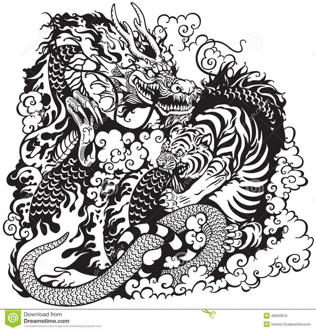 Japanese Yin Yang Tattoo Designs photo - 1