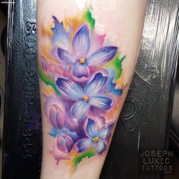 Latest Flower Tattoo Designs photo - 1