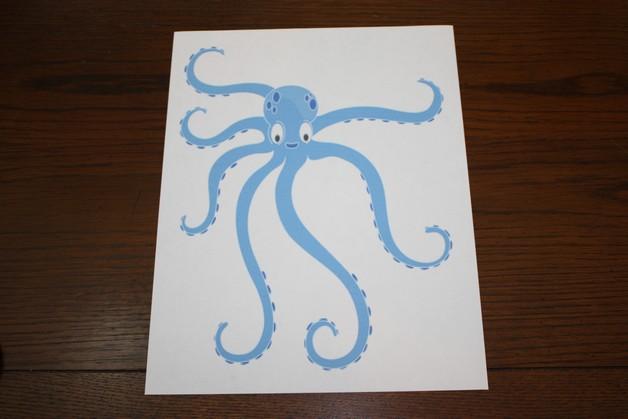 Latest Octopus Maori Tattoo Stencil photo - 1