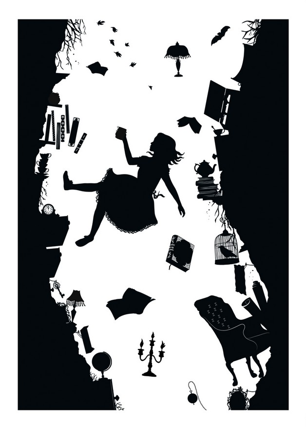 Literary Tattoo Stencil photo - 1