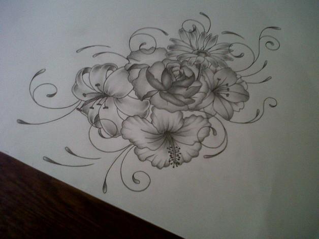 Lotus Flower Tattoo On Back Of Shoulder photo - 1