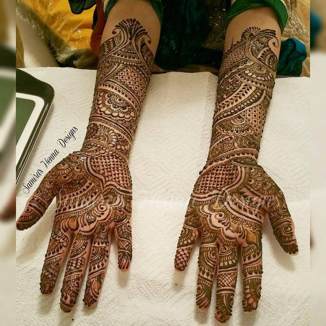 Lovely Henna Hand Tattoo Design photo - 1