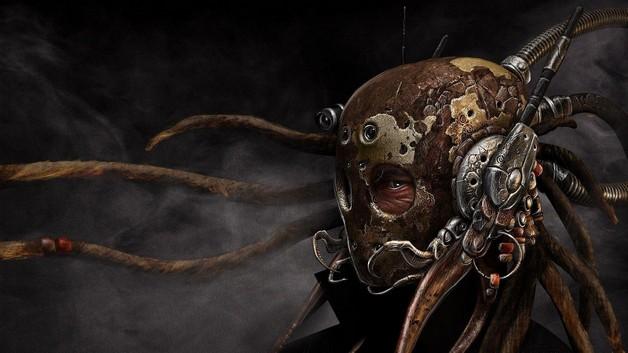 Masked Octopus Tattoo photo - 1