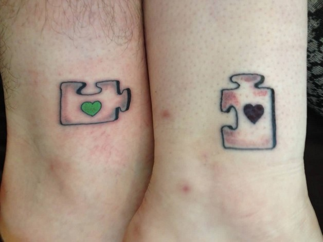 Matching Hand Tattoo For Couples photo - 1