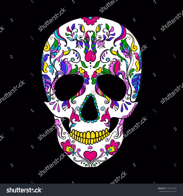 Mexican Colors Tattoo Designs photo - 1