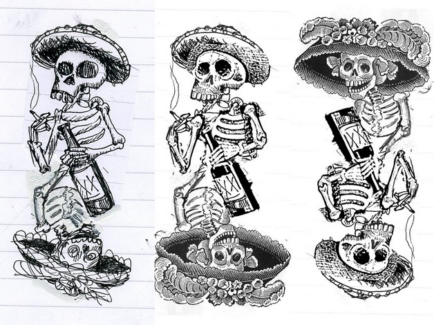 Mexican Gang Tattoo Designs On Body photo - 1