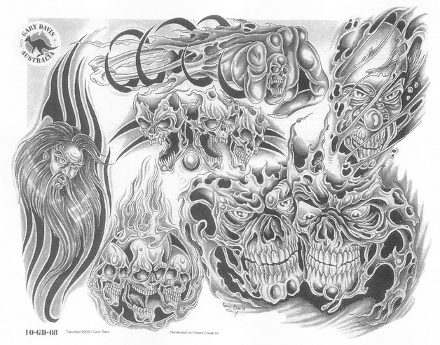 New Demonic Octopus Tattoo Designs photo - 1