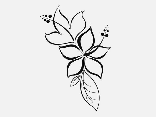 Outline Stars Hand Tattoo Designs photo - 1