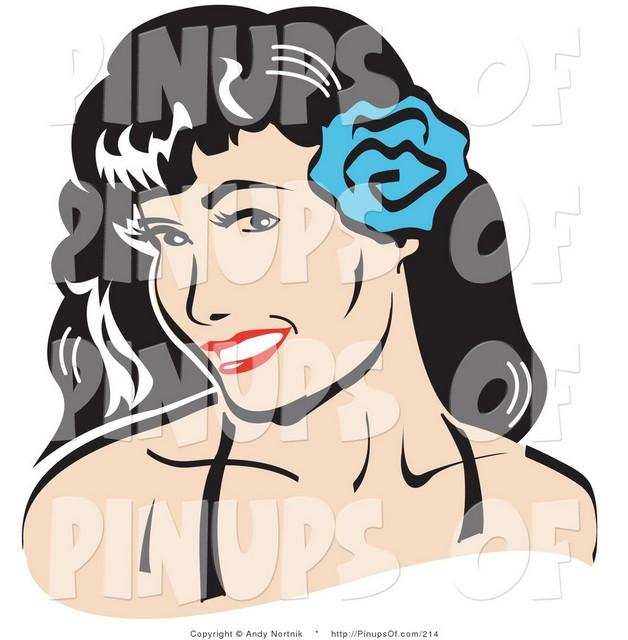 Pin Up Girl In Bikini With Guitar Tattoo On Shoulder photo - 1