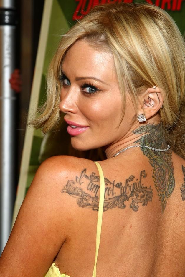 Queen Upperback Tattoo For Women photo - 1