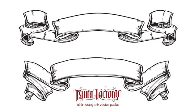Ribbons And Banner Tattoo Designs