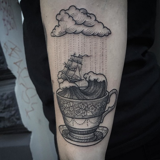 Ride The Storm - Glass Tattoo photo - 1